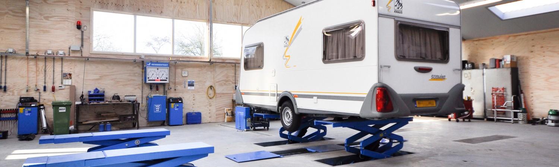Caravan reparatie